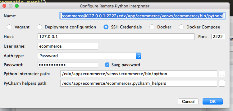 Pycharm Interpreter